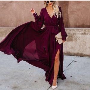 Vici Long Sleeve Diana Maxi Dress